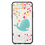 For OPPO R9s  R9s Plus Case Cover Pattern Back Cover Case Heart Whale Cartoon Hard PC R9 R9 Plus