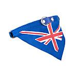 Кошка Собака Банданы и шляпы пояс/Бабочка Одежда для собак ковбой На каждый день Спорт Флаг Синий
