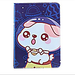 For Apple iPad (2017) Air2 Case Cover with Stand Flip Pattern Auto Sleep/Wake Up Full Body Case Dog Cartoon Hard PU Leather Air Mini 4/3 2 1 ipad2 3 4