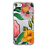 For iPhone 7 Plus 7 Case Cover Pattern Back Cover Case Cartoon Flower Soft TPU for iPhone 6s Plus 6 Plus 6s 5s 5 SE