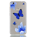 For Huawei P8 Lite (2017) P9 Lite Phone Case TPU Material Butterfly Pattern Relief Phone Case P8 Lite