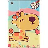 For Apple iPad Mini 3/2/1 Case Cover with Stand Auto Sleep / Wake Flip Magnetic Pattern Full Body Case Animal Cartoon Hard PU Leather