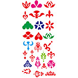Tattoo Stickers Totem Series Pattern Lower Back WaterproofWomen Men Teen Flash Tattoo Temporary Tattoos