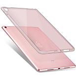 For apple ipad pro 9.7 '' funda transparente de la caja de la contraportada del caso de la contraportada del tpu suave del color sólido