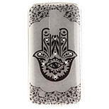 For LG K10 K7 Case Cover Palm Flower Pattern HD Painted Drill TPU Material IMD Process High Penetration Phone Case K8