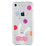 Назначение Чехлы панели С узором Задняя крышка Кейс для Животное Сияние и блеск Мягкий Термопластик для AppleiPhone 7 Plus iPhone 7