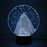 Christmas Snow Mountain Touch Dimming 3D LED Night Light 7Colorful Decoration Atmosphere Lamp Novelty Lighting Christmas Light