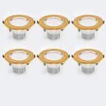6Pcs Yangming3W 30006000K Warm White Cool White LED Canister Light (85-265V)  004