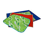 Dog Bed Pet Mats & Pads Solid Plaid/Check Cartoon Portable Foldable Soft Durable Green Ruby Dark Blue