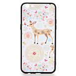For OPPO R9s  R9s Plus Case Cover Pattern Back Cover Case Deer Flower Animal Hard PC R9 R9 Plus