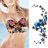 1Pcs Waterproof Under Stars Breast Tattoo Temporary Ornamental Sexy Tattoo