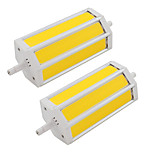 9W R7S COB Led Bulb 135mm Replacement Halogen Floodlight Lamp AC85-265V 110V-240V (2 Pieces)