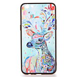 For OPPO R9s  R9s Plus Case Cover Pattern Back Cover Case Deer Animal Hard PC R9 R9 Plus