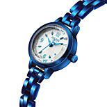 Dames Modieus horloge Japans Kwarts Waterbestendig Legering Band Blauw Zilver Bruin Goud Goud Rose