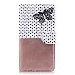 For Huawei P9 Lite P8 Lite Case Cover Card Holder Wallet with Stand Flip Pattern Full Body Case Butterfly Hard PU Leather