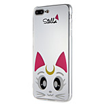 Case for apple iphone7 7plus soft tpu cat pattern для 6 с плюс 6 плюс 6 с 6