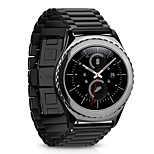 For Samsung Galaxy Gear S2 Classic  MSTRE Watch Band Strap Solid color Metal Stainless Steel Sport Band