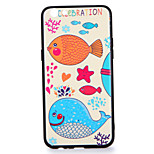 For OPPO R9s  R9s Plus Case Cover Pattern Back Cover Case Fish Cartoon Hard PC R9 R9 Plus