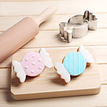 Christmas Candy Sugar Cookies Cutter Stainless Steel Biscuit Cake Mold Metal Kitchen Fondant Baking Tools