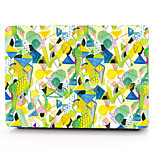 For MacBook Pro 13 15 Air 11 13 Case Cover Polycarbonate Material Geometric Pattern