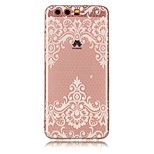 For Huawei P10 Lite P10 Case Cover Transparent Pattern Back Cover Case Flower Soft TPU for Huawei P9 Lite P8 Lite
