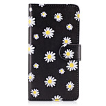 Case voor Samsung Galaxy Grand Prime on7 (2016) case cover de kleine witte bloemen patroon pu lederen cases voor on5 (2016)