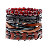 Retro National Wind Multilayer Woven Bracelet