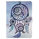 For Case Cover with Stand Flip Pattern Smart Touch Full Body Case Dream Catcher Hard PU Leather for iPad 2017 iPad Pro 9.7 air2 air 2.3.4
