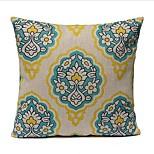 1 Pcs Vintage European Style Flowers Printing Pillow Cover Classic Cotton/Linen Pillow Case