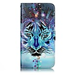 For Huawei P10 Lite P10 Phone Case Tiger Pattern Varnishing Process PU Leather Material Phone Case P10 Plus P9 Lite P8 Lite 2017 P8 Lite