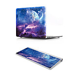 For MacBook Air 11 13 Pro Retina 13 15 Macbook 12 Case Cover PVC Material Oil Painting Sky with US Silicone Keyboard Protector