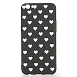 For OPPO R9s  R9s Plus Case Cover Pattern Back Cover Case Tile Heart Soft TPU R9 R9 Plus