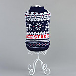 Dog Sweater Dog Clothes Casual/Daily Geometric
