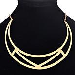 Жен. Ожерелья-бархатки Бижутерия Геометрической формы СплавБазовый дизайн Уникальный дизайн В виде подвески США Английский Классика
