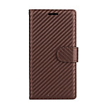 For SONY Xperia XZ XZS Case Cover The Small Grid PU Leather Cases