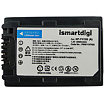Ismartdigi FH100 7.2V 3900mAh Camera Battery for Sony HDR-SR11E SR12E SR65E