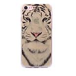 iPhone 7 7plus tapauksessa Cove valkoinen tiikeri kuvio flash-jauhe IMD prosessi TPU-materiaali puhelimen tapauksessa iphone 6 6s ja se 5s