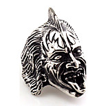 Statement Rings Jewelry Gothic Euramerican Vintage Hip-Hop Statement Jewelry Africa Stainless Steel Ring Animal Shape Skull / Skeleton Jewelry