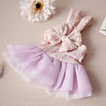 Dress Dog Clothes Cute Casual/Daily Fashion Princess Blushing Pink