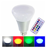 1pcs 10W LED Smart Bulbs High Power LED 500 lm RGBW  Remote-Controlled Dimmable 85-265V