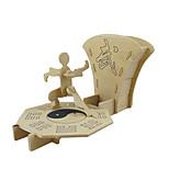 Quebra-cabeças Quebra-Cabeças 3D Blocos de construção Brinquedos Faça Você Mesmo Brinquedos Madeira Modelo e Blocos de Construção