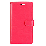 For Huawei P8 Lite (2017) P10 Case Cover Classic Three Cards Solid Color PU Skin Material Wallet Phone Case P10 P9 P8 Lite P9 P10 Plus Mate 8 9