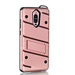 For Huawei Mate 9 Pro 9 Case Cover with Stand Back Cover Case Solid Color Hard PC P9 P9 Plus   P8 P8 Lite