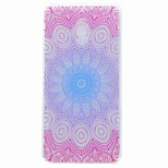 For Nokia 6 Case Cover Translucent Pattern Back Cover Case Mandala TPU Soft TPU Case
