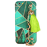 For Apple iPhone 7 Plus iPhone 7 iPhone 6s Plus iPhone 6 Plus iPhone 6s iPhone 6 DIY Case Back Cover Case Geometric Pattern Hard TPU