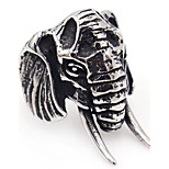 Unique Design Stainless Steel Ring Animal Shape Jewelry For Special Occasion Halloween Gift Casual Christmas Gifts 1 pcs