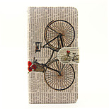For SONY Xperia X XA Case Cover The Bicycle Pattern PU Leather Cases for Xperia M4 Aqua