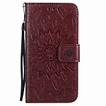 For Huawei P9 lite P9 Case Cover Card Holder Wallet with Stand Flip Magnetic Embossed Full Body Case Flower Hard PU Leather P8lite Y5II 5X Y6 Y625