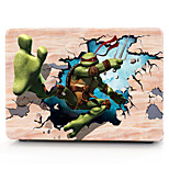 For MacBook Pro 13 15 Case Cover Polycarbonate Material Cartoon