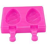 2 Children Do Ice Cream Mold Soft Silicone Non-toxic Ice Cream Frozen Box Home-made Ice Cream Box